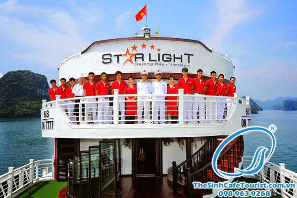 Tour Du thuyền Starlight Hạ Long 3 ngày 2 đêm