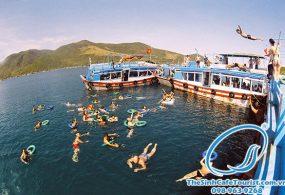 Tour Du Lịch Nha Trang 1 Ngày (Vịnh Nha Phu – Đảo Khỉ )