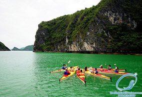 Tour Du Lịch Cát Bà Vịnh Lan Hạ Đảo Khỉ 1 Ngày  Đi Tàu Siêu Tốc