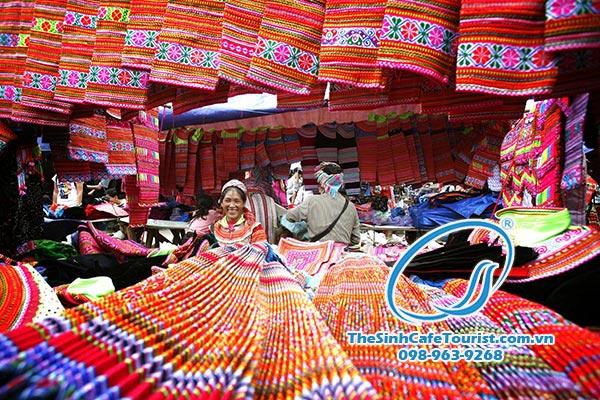 Chợ Bắc Hà Tour du lịch SaPa 2 ngày 3 đêm ( Cát Cát – chợ Bắc Hà )