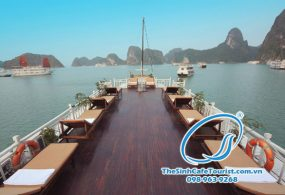 Tour Du Lich Du Thuyen Majestic Halong Bay Cruise