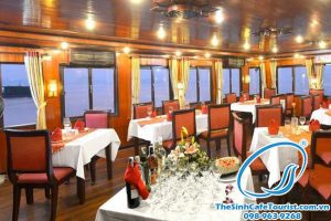 Tour Du Lich Du Thuyen Apicot  Halong Bay Cruise3