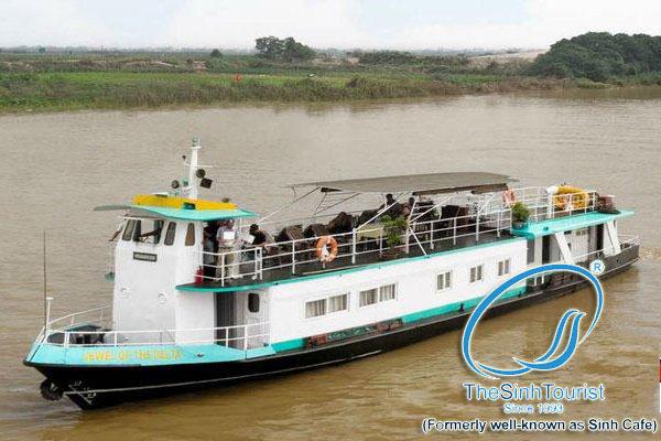 Tour du lịch Sông Hồng bằng tàu thủy 1 ngày