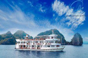 Tour Du Thuyền Hạ Long Cristina Diamond 4 Sao 2 Ngày 1 đêm -Lh 0989639268