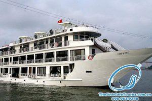 Du Thuyền Hạ Long ALISA Cruise 5 Sao Giá Tốt đặt Ngay