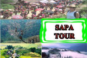 Tour Du Lịch SaPa Thác Bạc 2 Ngày 3 đêm Cát Cát – Hàm Rồng -Thác Tình Yêu