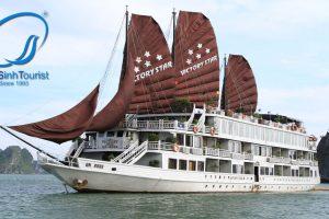 Tour Du Lịch Hạ Long 1 Ngày Trên Tàu-Luxury