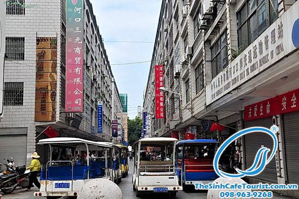 Khu chợ Hà Khẩu