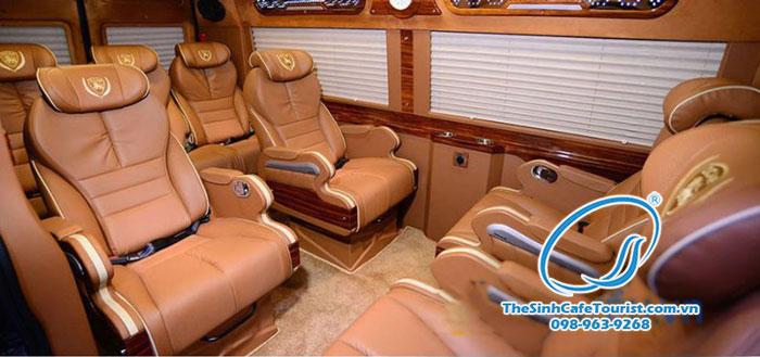 Xe du lịch Sapa Limousine