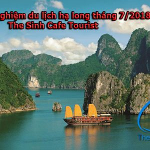 Kinh Nghiệm Du Lịch Hạ Long Tháng 7/2018 – The Sinh Cafe Tourist