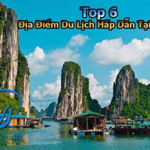 Top 6 địa điểm Du Lịch Tại Hạ Long