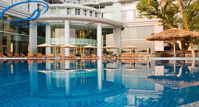 Khách sạn Novotel4 sao trên đường Hạ Long