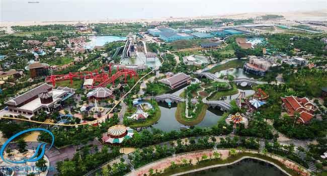 Tổ hợp vui chơiSun World Halong Complexsở hữu 2 công viên lớn nhất Đông Nam Á